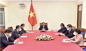 Việt Nam, Thổ Nhĩ Kỳ thúc đẩy hợp tác phòng chống dịch và mở cửa nền kinh tế