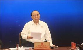 Chủ tịch nước Nguyễn Xuân Phúc tiếp xúc cử tri TP. Hồ Chí Minh