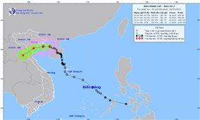 Bão số 7 hướng vào Nam đồng bằng Bắc Bộ và Thanh Hóa, chuẩn bị có bão số 8 liền sau