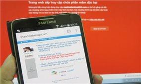 Cẩn trọng với đề nghị nạp thẻ cào điện thoại qua các trang web