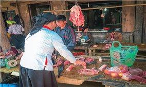 Rau sạch ra chợ Tết