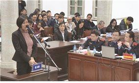 Bước tiến mới trong các phiên tòa hình sự