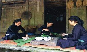 Bánh chưng đen Cao Bằng