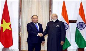 Thủ tướng Nguyễn Xuân Phúc hội đàm với Thủ tướng Ấn Độ Narendra Modi