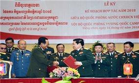 Đưa quan hệ hợp tác quốc phòng Việt Nam - Cam-pu-chia đi vào chiều sâu