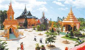 Đạo và đời ở những ngôi chùa Khmer