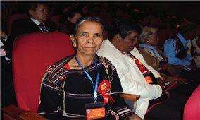 Bà Siu Phyin, dân tộc Jrai, xã Ia Púch, huyện Chư Prông (Gia Lai): Ra Thủ đô để được học hỏi, làm tốt hơn công tác tuyên truyền