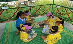 Nhiều giải pháp tăng cường tiếng Việt cho học sinh DTTS