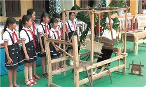 Bảo tồn văn hóa Mường ở một trường tiểu học
