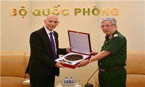 Tăng cường hợp tác quốc phòng Việt Nam - Israel