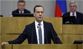 Thủ tướng Nguyễn Xuân Phúc gửi điện mừng Thủ tướng Nga