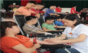Bình Gia (Lạng sơn): Lan tỏa phong trào hiến máu tình nguyện