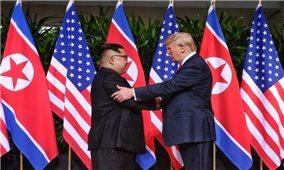 Lãnh đạo Mỹ-Triều Tiên bắt đầu cuộc gặp lịch sử