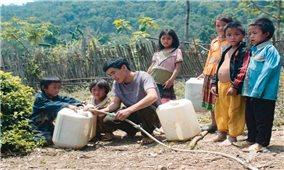 Khoảng 80% người dân nông thôn được sử dụng nước hợp vệ sinh