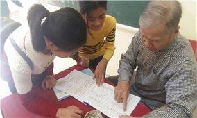 Sôi nổi phong trào học chữ Thái