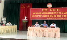 Bộ trưởng, Chủ nhiệm Đỗ Văn Chiến tiếp xúc cử tri tỉnh Tuyên Quang