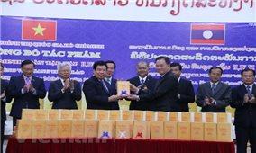 Công bố tác phẩm Hồ Chí Minh toàn tập các cuốn 2,4 và 6 tiếng Lào