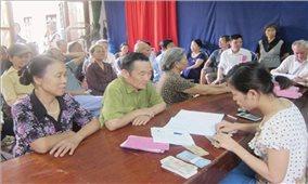 Xây dựng kế hoạch đánh giá chính sách trợ giúp xã hội