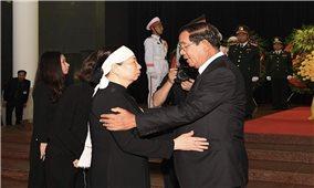 Lãnh đạo các nước tới Việt Nam viếng Chủ tịch nước Trần Đại Quang