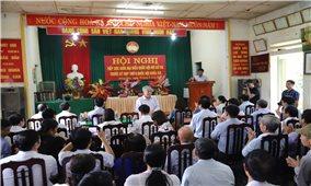 Bộ trưởng, Chủ nhiệm Ủy ban Dân tộc Đỗ Văn Chiến tiếp xúc cử tri tại Tuyên Quang