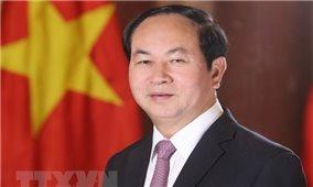 Nhiều nước chia buồn việc Chủ tịch nước Trần Đại Quang từ trần