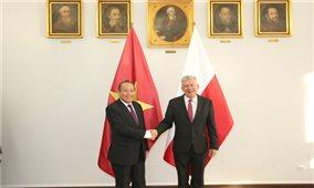 Phó Thủ tướng Thường trực hội kiến Chủ tịch Thượng viện Ba Lan