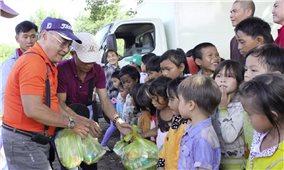 Những đứa trẻ ở Ertrol mong Tết Trung thu