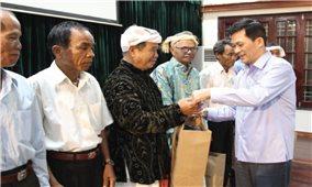 Ủy ban Dân tộc: Gặp mặt Đoàn đại biểu Người có uy tín trong đồng bào DTTS tỉnh Ninh Thuận