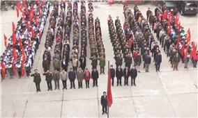 Nghi thức chào cờ đầu tháng ở huyện Hoàng Su Phì: Bồi đắp ý thức chính trị, xây dựng văn hóa công sở