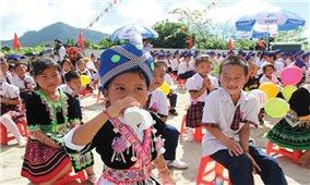 Chương trình sữa học đường: Đừng để lỡ nhịp