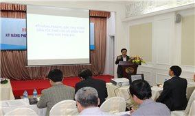 Hội nghị tập huấn kỹ năng phổ biến, giáo dục pháp luật : Góp phần đẩy mạnh kỹ năng tuyên truyền