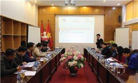 Tham vấn kết quả nghiên cứu phân tích thực trạng phát triển kinh tế-xã hội của các dân tộc thiểu số tại Việt Nam