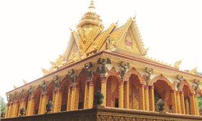 Lấp lánh nữ thần Kâyno dưới những mái chùa Khmer