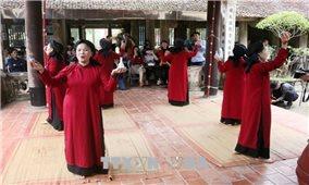 Hát Xoan làng cổ - sản phẩm đặc trưng hút du khách