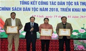 Nghệ An: Tổng kết công tác dân tộc và thực hiện chính sách dân tộc