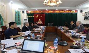 Bộ trưởng, Chủ nhiệm Đỗ Văn Chiến làm việc với đại diện Ngân hàng Phát triển châu Á