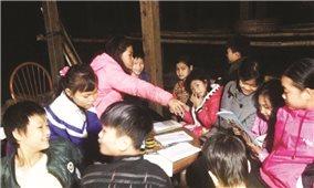 Lớp học đặc biệt của cô gái dân tộc Dao