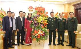 Thứ trưởng, Phó Chủ nhiệm Hoàng Thị Hạnh chúc mừng Ngày Truyền thống Bộ đội Biên phòng