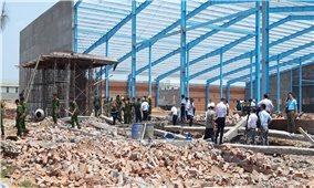 Vụ sập công trình tại Khu Công nghiệp Vĩnh Long: Bộ xây dựng có công văn hoả tốc chỉ đạo