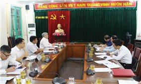 Bộ trưởng, Chủ nhiệm Ủy ban Dân tộc Đỗ Văn Chiến: Làm việc với UBND tỉnh Lào Cai