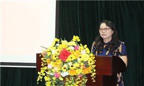 Thứ trưởng, Phó Chủ nhiệm Hoàng Thị Hạnh dự Hội nghị chuyên đề Đặc điểm văn hóa vùng Tây Bắc và vấn đề bảo tồn, phát huy bản sắc văn hóa các DTTS