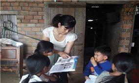 Lớp học ngoại ngữ miễn phí của cô giáo H'Brông