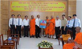 Thủ tướng Chính phủ Nguyễn Xuân Phúc thăm, chúc Tết cổ truyền đồng bào Khmer Tp. Cần Thơ