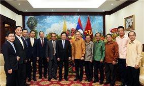 Phó Thủ tướng Phạm Bình Minh chúc mừng Tết cổ truyền Bunpimay của Lào