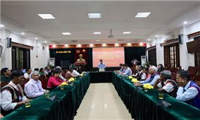 Ủy ban Dân tộc: Gặp mặt Người có uy tín tiêu biểu tỉnh Kon Tum