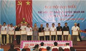 Thạch An (Cao Bằng): Đại hội Đại biểu các dân tộc thiểu số lần thứ III năm 2019