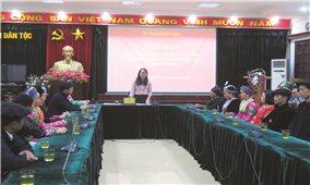 Ủy ban Dân tộc: Gặp mặt Đoàn đại biểu Người có uy tín huyện Mèo Vạc