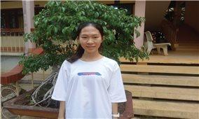 Cô học trò dân tộc Thái vượt khó học giỏi