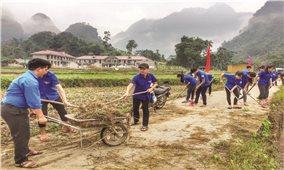 Thanh niên DTTS chung tay bảo vệ môi trường