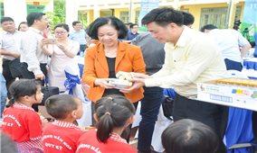Quỹ sữa vươn cao Việt Nam và Vinamilk chung tay vì trẻ em khó khăn